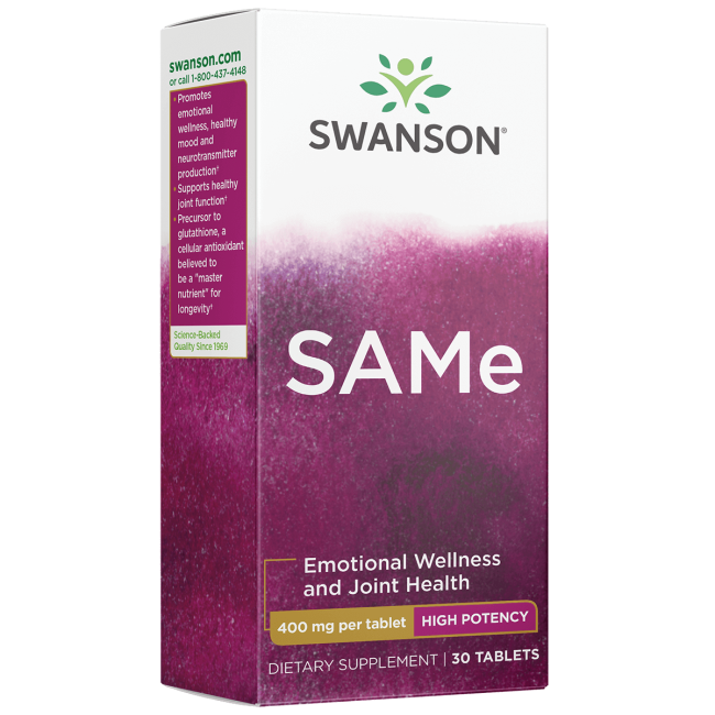 Swanson UltraHigh-Potency SAMe