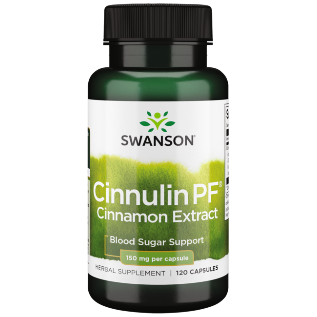 Swanson UltraCinnulin PF Cinnamon Extract