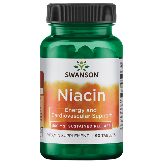Swanson Ultra Sustained Release Niacin