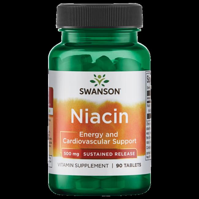 B vitamins Tu Salud en Veo y Compro de Swanson Ultra 500 de niacina de liberación sostenida mg 90 Tabs Productos para  + B Vitamins en Veo y Compro