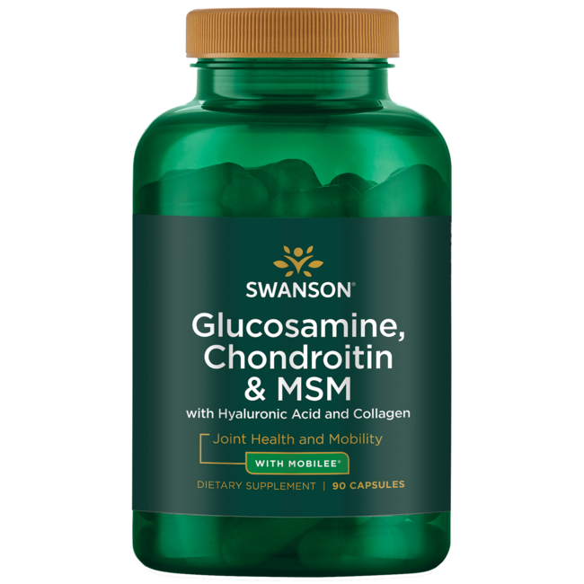 Swanson UltraGlucosamine, Chondroitin & MSM with Hyal-Joint