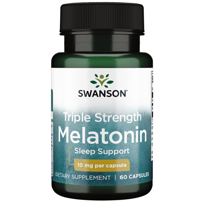 Swanson Ultra Triple Strength Melatonin