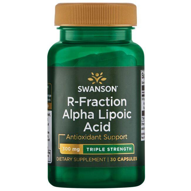 Swanson UltraTriple Strength R-Fraction Alpha Lipoic Acid