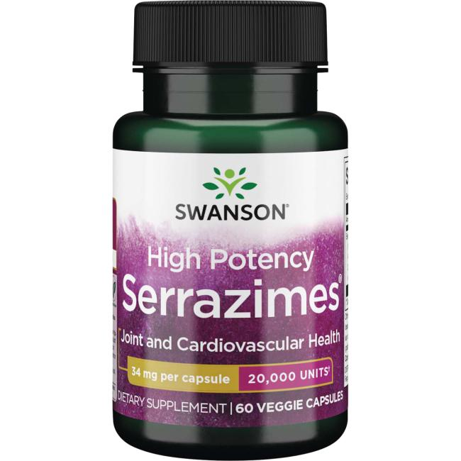Swanson Ultra High-Potency Serrazimes 20,000 Units