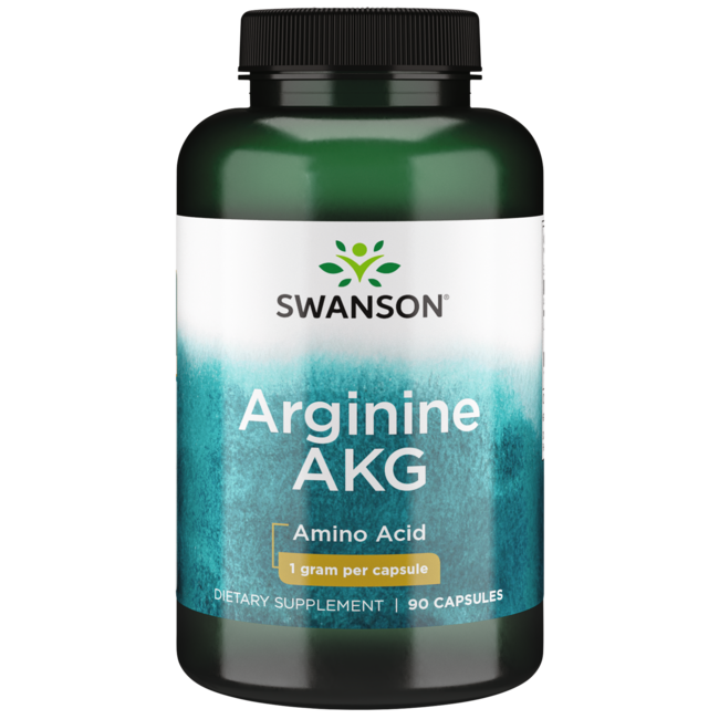 Swanson UltraMaximum Strength Arginine AKG Nitric Oxide Enhancer