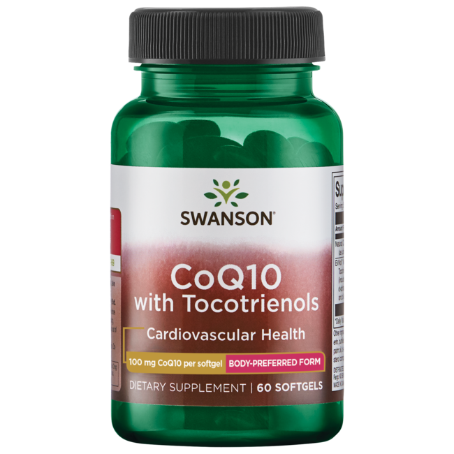 Swanson Ultra CoQ10 100 mg with 10 mg Tocotrienols