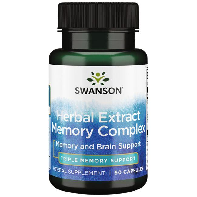 Swanson Ultra Herbal Extract Memory Complex