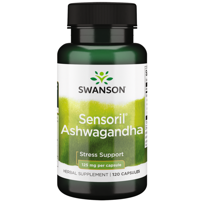 Swanson Ultra Sensoril Anti-Stress Nutraceutical