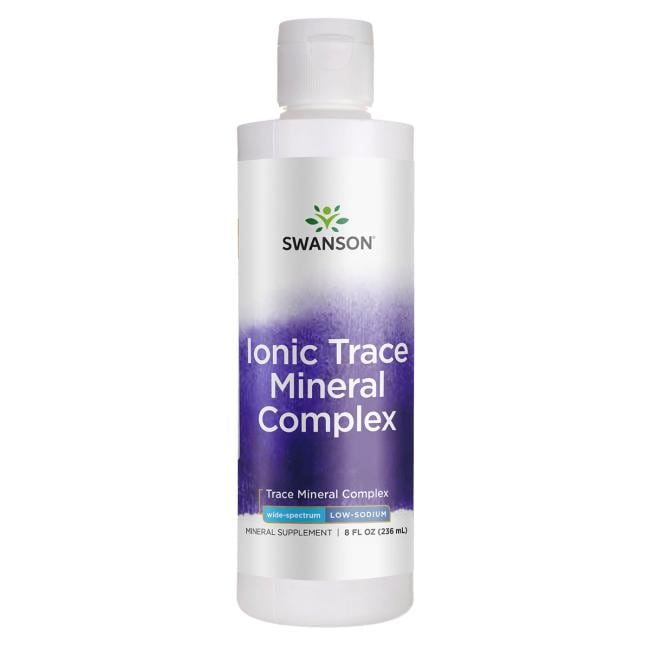 Swanson Ultra Ionic Trace Mineral Drops