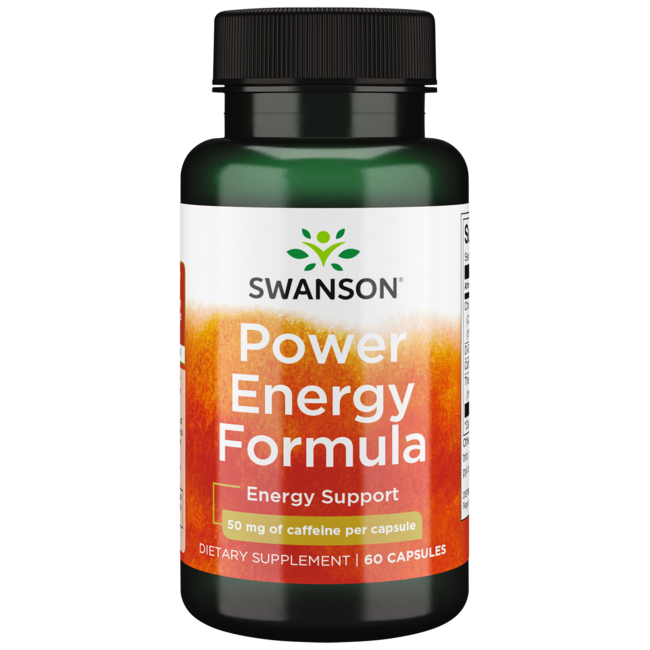 Swanson UltraPower Energy Formula (Natural Caffeine + Herbs)