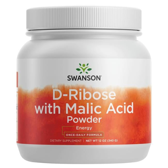 Swanson Ultra D-Ribose with Malic Acid Powder
