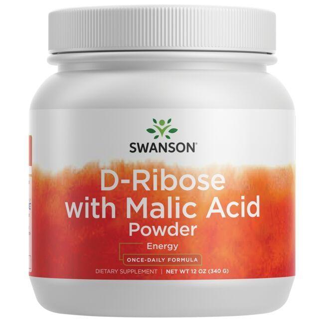 Swanson UltraD-Ribose with Malic Acid Powder