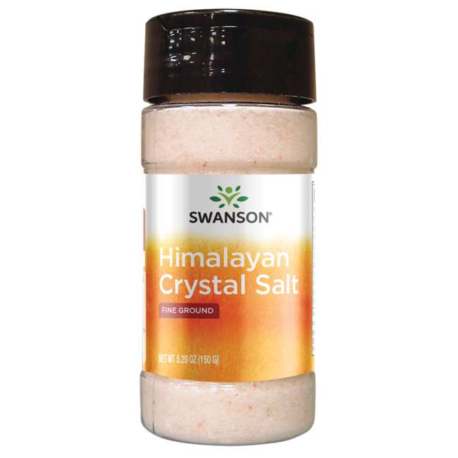 pink himalayan crystal salt low price swanson health