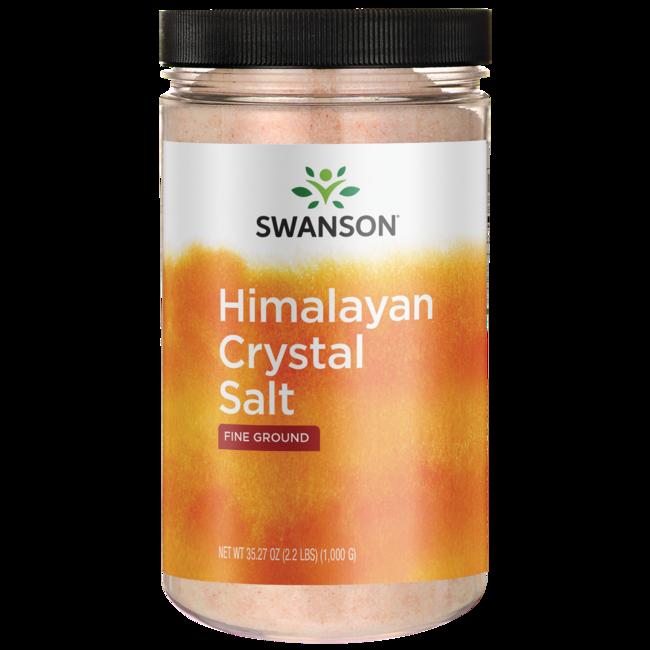 himalayan salt pink crystal salt low price swanson
