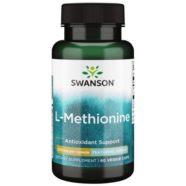 Swanson UltraL-Methionine - Featuring AjiPure