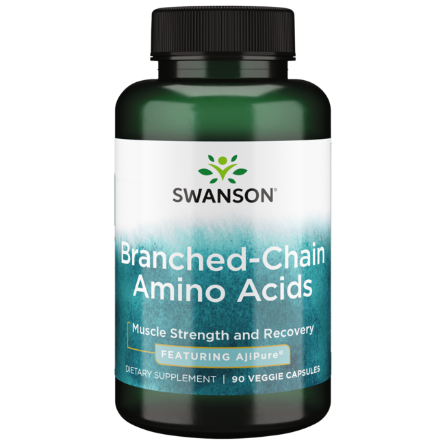 Swanson Ultra AjiPure Branched-Chain Amino Acids, Pharmaceutical Grade