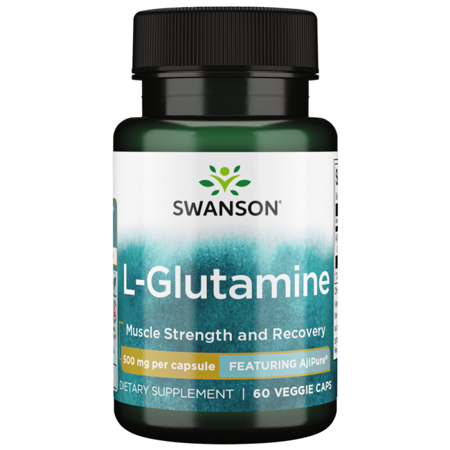 Swanson Ultra AjiPure L-Glutamine, Pharmaceutical Grade