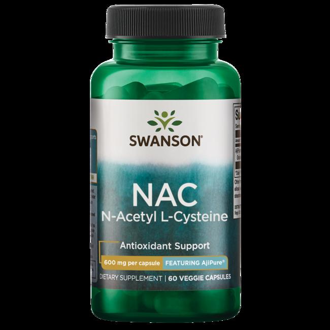 ... Cysteine Supplement - AjiPure 600 mg - Swanson Health Products