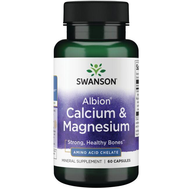 Swanson UltraAlbion Chelated Calcium & Magnesium Glycinate