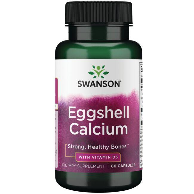 Swanson Ultra Eggshell Calcium with Vitamin D-3