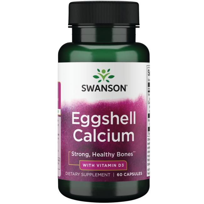 Swanson UltraEggshell Calcium with Vitamin D-3