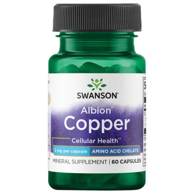 Swanson UltraAlbion Chelated Copper