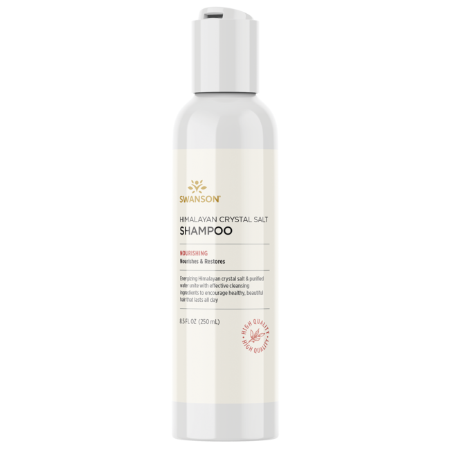 Swanson UltraHimalayan Crystal Salt Shampoo