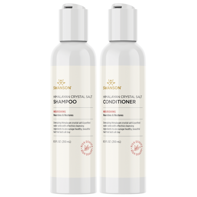 Swanson Ultra Himalayan Crystal Salt Shampoo/Conditioner Combo