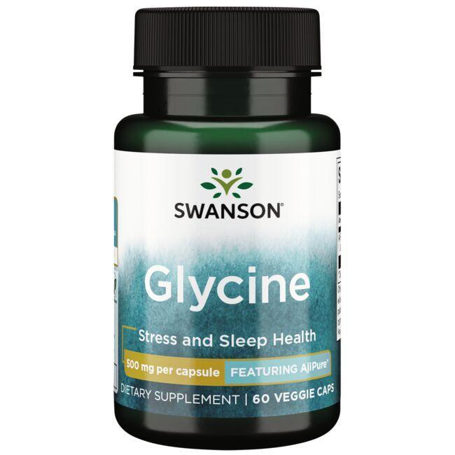Swanson UltraAjiPure Glycine, Pharmaceutical Grade