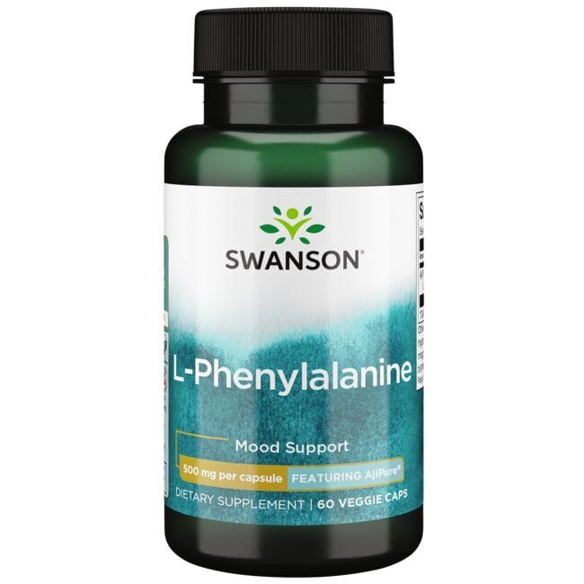 Swanson Ultra L-Phenylalanine - Featuring AjiPure