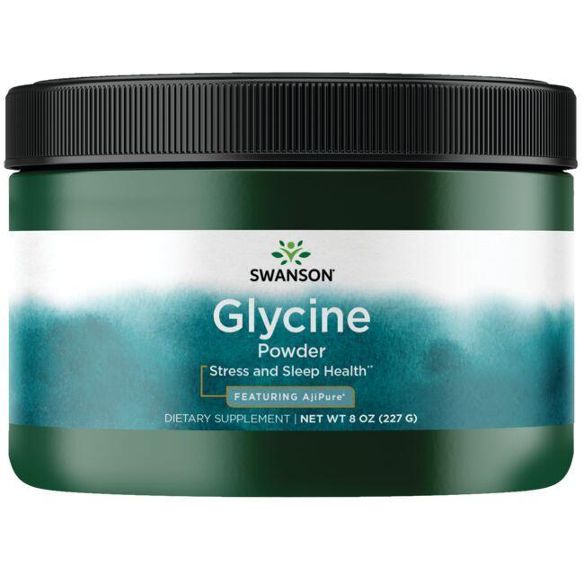 Swanson UltraAjiPure Glycine Powder, Pharmaceutical Grade