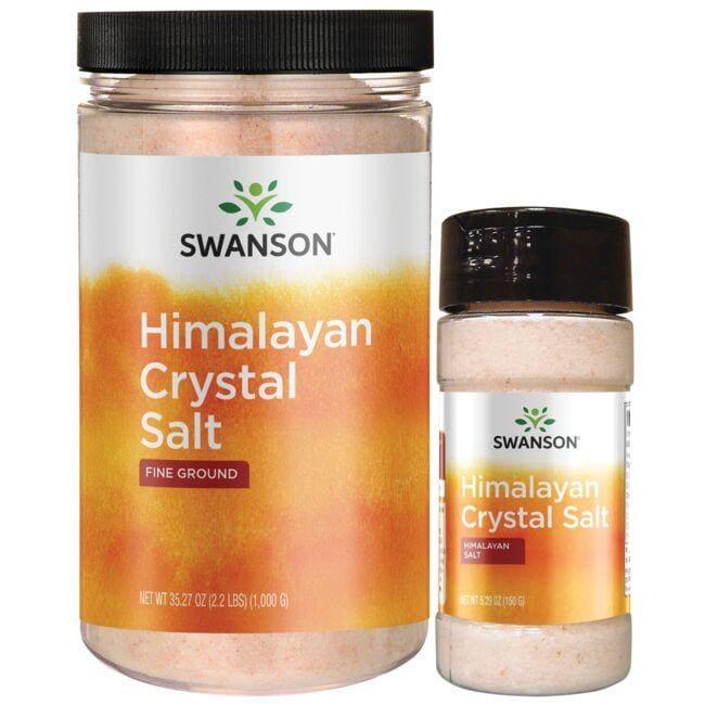 Swanson UltraHimalayan Crystal Salt Combo
