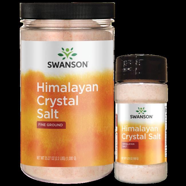Swanson Ultra Himalayan Crystal Salt Combo