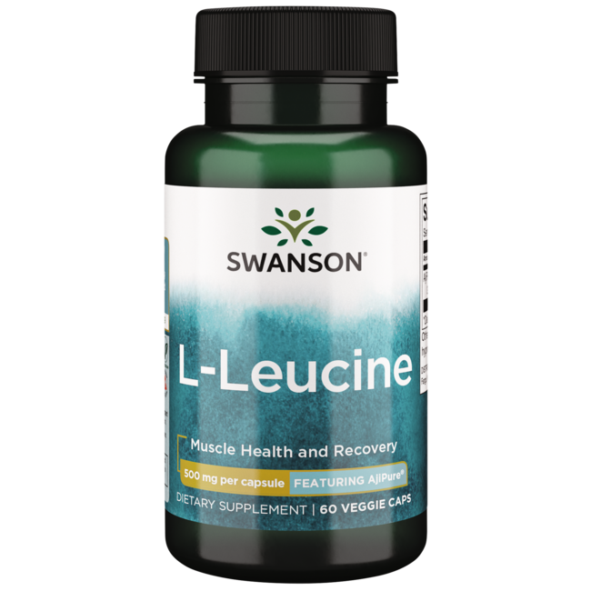 Swanson UltraAjiPure L-Leucine, Pharmaceutical Grade
