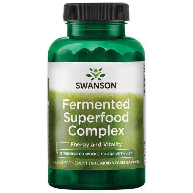 Swanson Ultra Fermented Superfood Complex