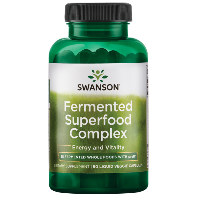 Swanson UltraMichio Kushi's Fermented Superfood Complex with preB