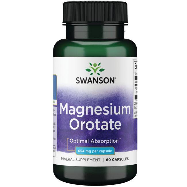 Swanson UltraMagnesium Orotate - 40 mg Elemental Magnesium