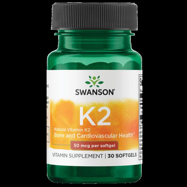 Swanson UltraNatural Vitamin K2 (Menaquinone-7 from Natto)