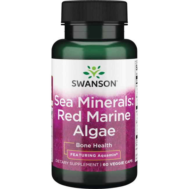 Swanson UltraSea Minerals: Red Mineral Algae - Featuring Aquamin