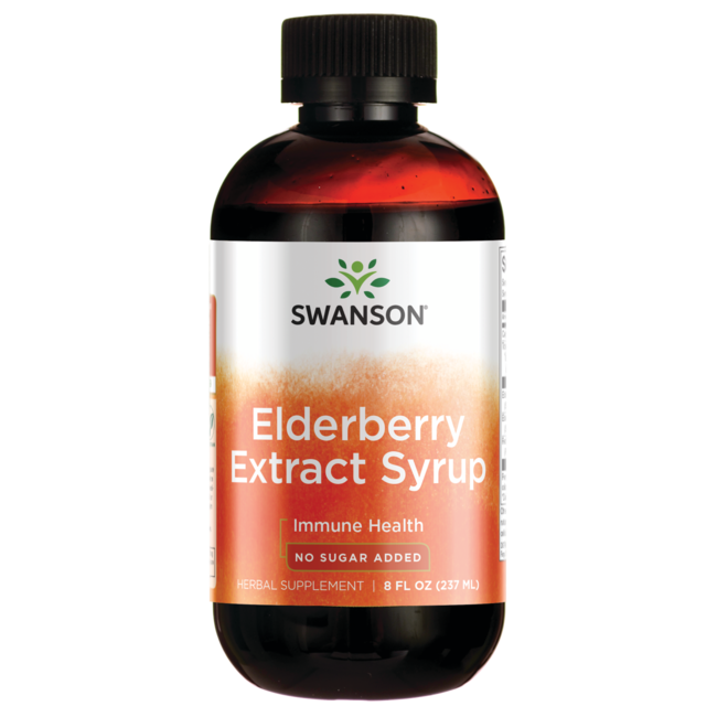 Swanson UltraElderberry Extract Syrup 100% Natural