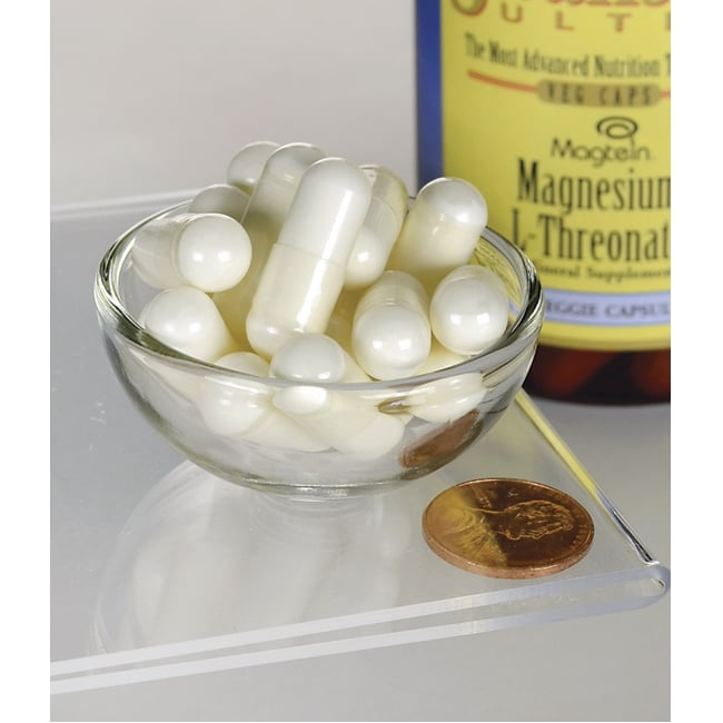 Swanson ultra magnesium l threonate 90 veg caps swanson for Katzennetz balkon mit garden of life probiotics