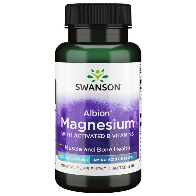 Swanson UltraAlbion Chelated TRS Magnesium