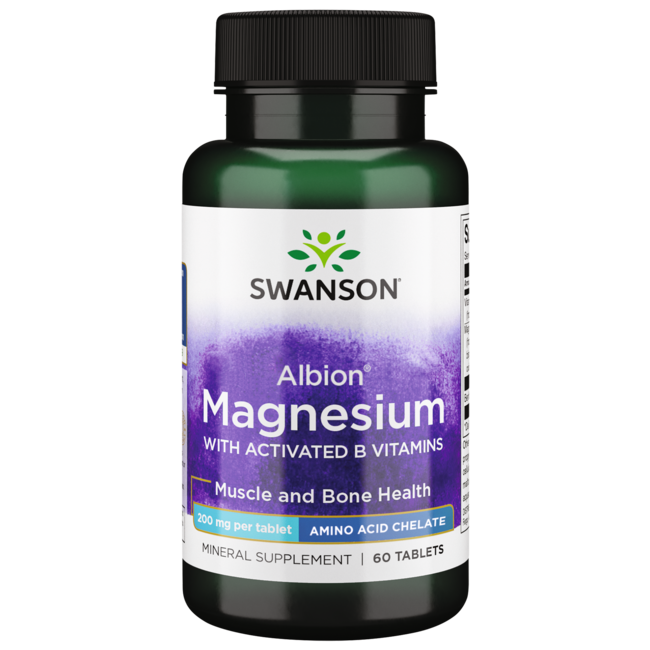 Swanson Ultra Albion Chelated TRS Magnesium