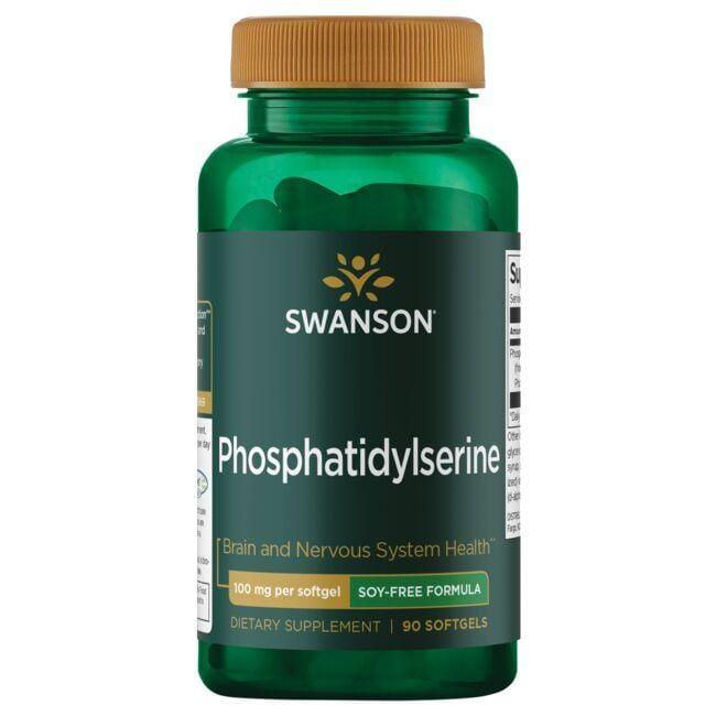 Swanson UltraPhosphatidylserine Soy-Free Formula