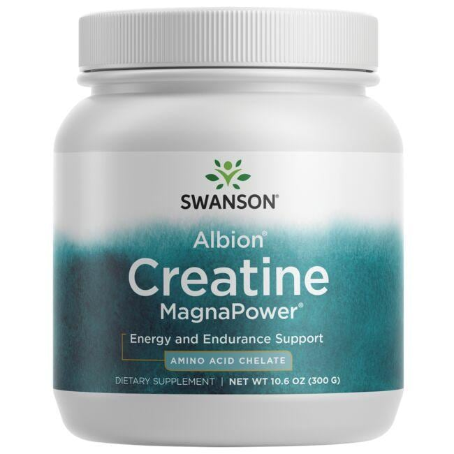 Swanson Ultra Creatine MagnaPower - Featuring Albion