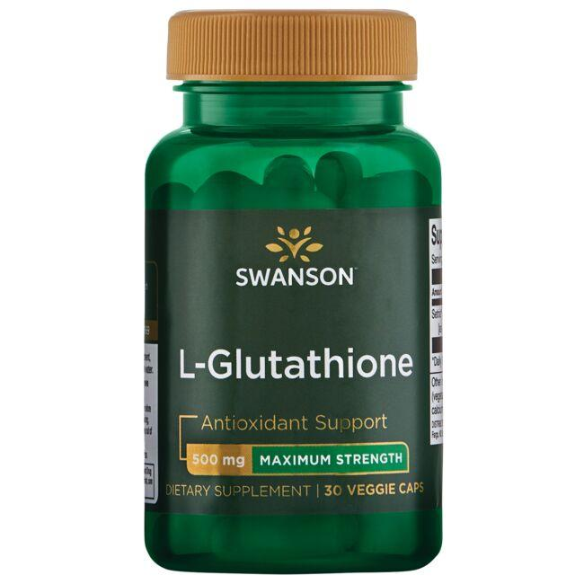 Swanson Ultra L-Glutathione - Maximum Strength