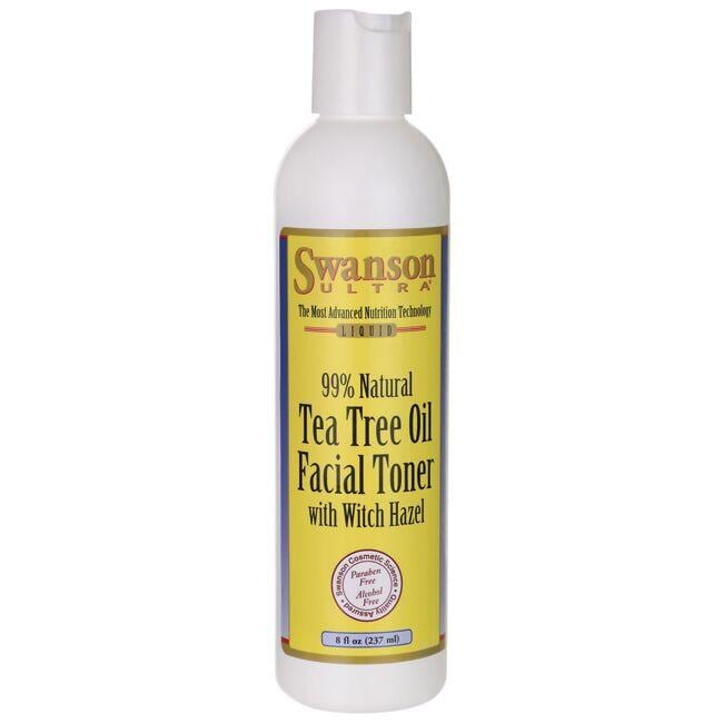 Swanson UltraTea Tree Oil Facial Toner - Alcohol Free with Witch Hazel