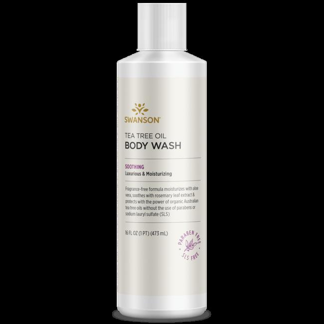 Swanson Ultra Tea Tree Oil Body Wash