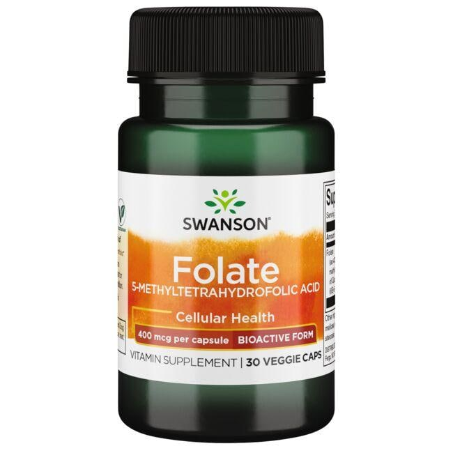 Swanson UltraFolate (5-Methyltetrahydrofolic Acid)