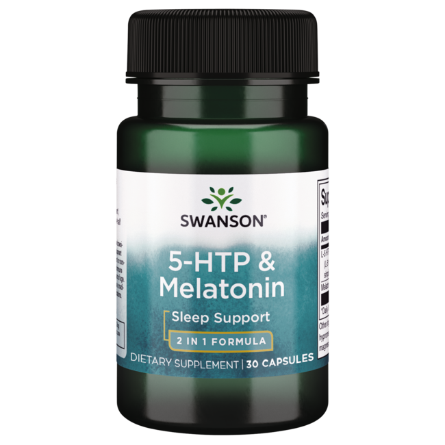 Swanson Ultra 5-HTP y melatonina
